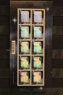 New Zealand , Hologramm Mondlandung, 1994, Kleinbogen, MNH - Holograms