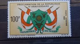 1968 Yv PA 99 MNH A9 - Niger (1960-...)
