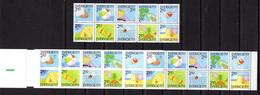 Suède1989, Summer Holiday On The Beach, Les Plaisirs D'été, 1524 / 1533** + C 1524**, ( Sek 63,-) - Unused Stamps