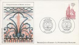 FDC 1982 BEFFROI DE LILLE - 1980-1989