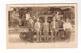 Salt Lake City, Utah, USA. Advertising For Sight-Seeing Bus. 1913 Postcard - Salt Lake City