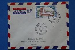 P25 CAMEROUN BELLE LETTRE 1976 YAOUDE POUR ST JACUT FRANCE + AFFRANCHISSEMENT PLAISANT - Cameroon (1960-...)