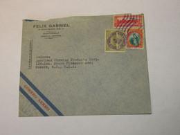 Guatemala Airmail Cover To USA 1936 - Guatemala