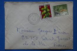 P25 CAMEROUN BELLE LETTRE 1977 DOUALA  POUR ST JACUT FRANCE + AFFRANCHISSEMENT PLAISANT - Cameroon (1960-...)