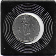 10 FRANCS 1972 - Luxembourg