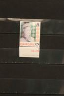 Hologramm, Hologrammmarke 1994, Isle Of Man, Königin Elisabeth II; 5 Pfund; MNH - Holograms