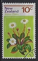 New Zealand 1972  Alpine Flowers: Daisy  10c  (o) ACS.496 - Gebraucht