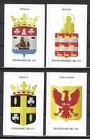 Netherlands Nederland 2020, Coat Of Arms, Wapenschild: Pekela, Boxtel, Raalte En Apeldoorn Op Kaartjes Van Hertogpost - Other