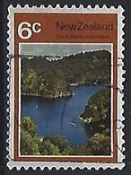 New Zealand 1972  Lakes: Waikaremoana  6c  (o) ACS.497 - Gebraucht
