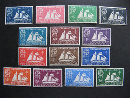 A). Saint Pierre Et Miquelon: TB Série  N° 296 Au N° 309, Neufs XX . - Nuovi
