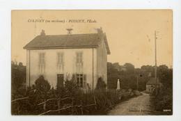 CPA - 39 - POISOUX - L'ÉCOLE - - Otros Municipios