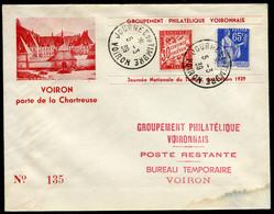 21358 FRANCE   Journée Du Timbre  Voiron Du 5.3.39  B/TB - ....-1949