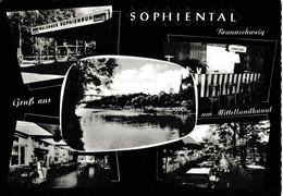 AK Waldhaus Sophienruh Am Mittellandkanal Bei Wendeburg/Peine Um 1960 - Andere