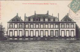 72 - Saint-Aubin-du-Locquenay (Sarthe) - Le Château - Vue De Face - Andere Gemeenten