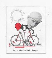 Biagioni Sergel-Baanreuzen-Géants De La Route-nr 94-Belgian Chewing Gum Cy S.A.-Antwerp - Wielrennen