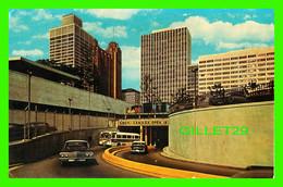 DETROIT, MI - TUNNEL TO CANADA - TRAVEL IN 1965 - DEXTER - - Detroit