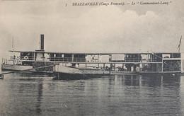 Brazzaville (Congo Français) - Le «Commandant-Lamy» - Brazzaville