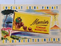 1 BUVARD CHOCOLAT MENIER FONDANT NOISETTES - Cocoa & Chocolat