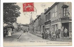 CPA 60 BORAN LA RUE DE LA GARE IMP PHOT J FREMONT BEAUMONT SUR OISE LEMAIRE BATAVOINE   BE - Boran-sur-Oise