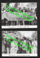 Défilé 1er Mai à Paris 1979 / 2 Cartes / Le Groupe Homosexuel & Le Groupe Femme - Labor Unions