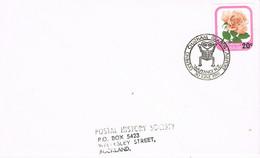 40054. Carta WAITANGI (New Zealand) 1981. Opening CHATHAM Island Airport. ROSE - Briefe U. Dokumente