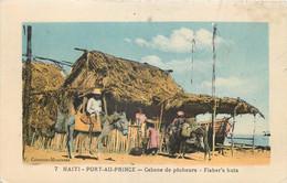 Haiti - Port-au-Prince - Cabane De Pêcheurs - Haiti
