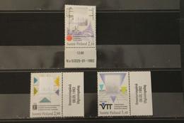 Hologramm, Hologrammmarke Finnland 1992, Finnische Technologie, MNH - Holograms