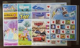 Thailand Stamp Personalized 2009 WALT DISNEY Completed Set (10) - Tailandia