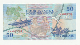 50 Dollars Îles Cook 1992 - Cook Islands