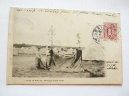 Carte Du Camp De Mailly  Dép De La Marne Et De L'Aube.  Carte Rare - Otros Municipios