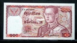 Thailand Banknote 100 Baht Series 12 P#89 SIGN#56 UNC - Thailand