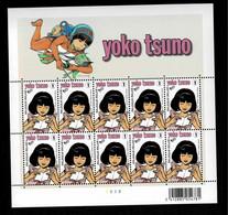 Nr 3922** Velletje Van 10 Yoko Tsuno - Hojas