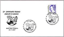 67 Camp. De Italia De AJEDREZ - 67th Italian Champ. Of CHESS. Martina Franca, Taranto, 2007 - Chess