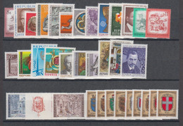 1976**  Oostenrijk - Autriche - Austria  (sans Charn., MNH, Postfrish) Complete ) Mi1506/1539 (34v) - Años Completos