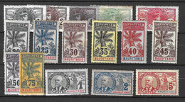 Mauritanie Maury N° 1/16 Neufs *. B/TB. A Saisir! - Unused Stamps