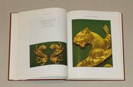 Ancient Gold Kazakhstan Archeology Scythians Animal Style Jewelry Ring Weapon - Archeology