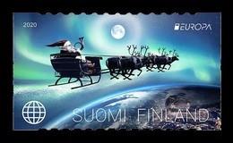 Finland 2020 Mih. 2696 Europa. Ancient Postal Routes. Christmas. Santa Claus MNH ** - Ongebruikt