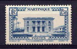 MARTINIQUE - N° 149** - HÔTEL DU GOUVERNEUR DE FORT DE FRANCE - Unused Stamps