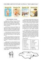 "GIAMAICA - 1992- FOGLIO SERIE ""COLOMBO 500° SCOPERTA AMERICA"" - (MLH) - Jamaique (1962-...)"
