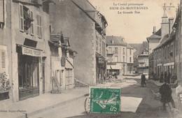 Le Cantal Pittoresque : Riom ès Montagnes : La Grande Rue - 1912 - Otros Municipios