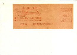Lettre EMA Havas 1960 Helicoptere Alouette Sud Aviation Usine Metier 75 Paris C39/21 - Helicopters