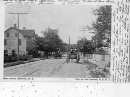 MAIN STREET, MILLTOWN, N. J. (CARTE PRECURSEUR ) - Ohne Zuordnung