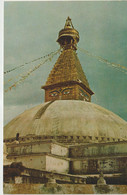 Asie : NEPAL :   Bodh Nath  Stupa , Kathmandu - Nepal