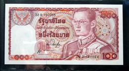 Thailand Banknote 100 Baht Series 12 P#89 SIGN#53 UNC - Thailand