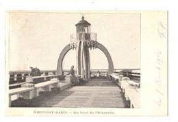 NIEUWPOORT BAD - Au Bout De L' Estacade - Verzonden In 1902 - - Nieuwpoort