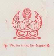 Meter Cover Netherlands 1955 Asian Deity - Ohne Zuordnung