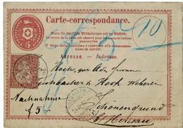 "1873, Tübeli - GA Als NN, "" St. Gallen "" , A4543 - Covers & Documents"