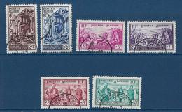 """Algerie YT 319 à  324 """" Sinistrés D'Orléansville """" 1954 Oblitéré - Used Stamps"""