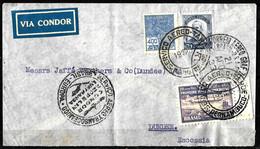 472 - BRASIL - 1933 - ZEPPELIN POST - COVER TO SCOTLAND - FORGERY, FALSE, FAKE, FAUX, FALSO, FALSCH - Collezioni (senza Album)