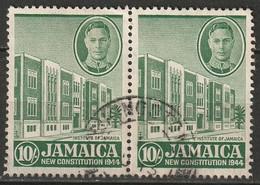Jamaica 1945 Sc 135  Pair Used - Jamaica (...-1961)